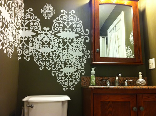 Bathroom Before   by emily @ go haus go