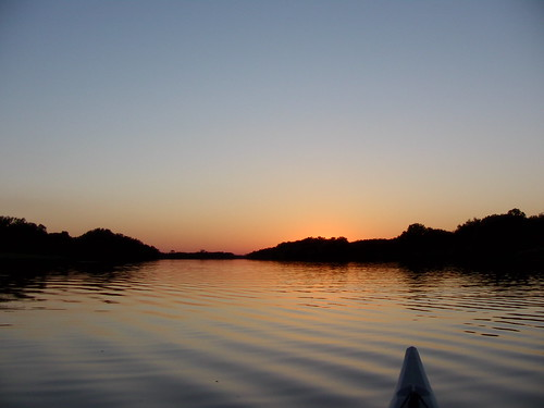 sunset kayaking mcfarlane