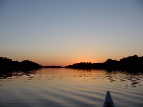 sunset kayaking mcfarlane