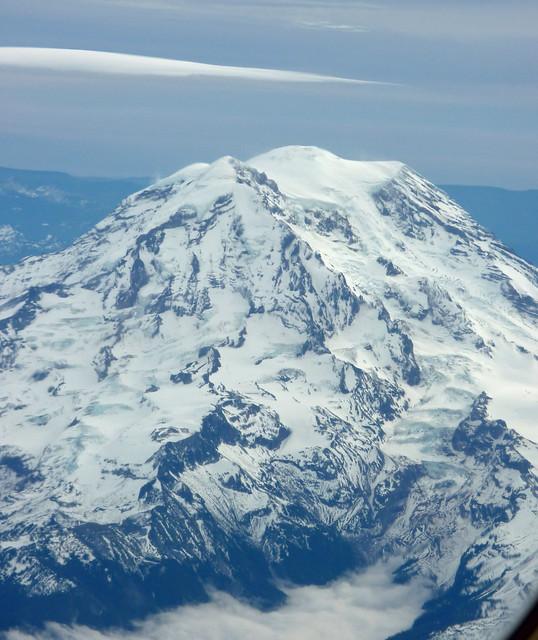 I never get tired of Mt. Rainier