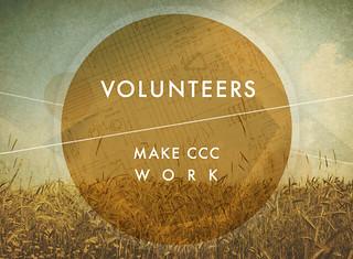Volunteers make CCC work | by @ryandupre