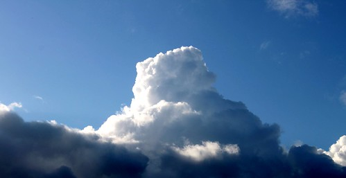 morning blue sky storm clouds sunrise thunderhead scism jeffscism