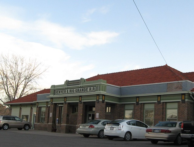 Rail Station in Florence, CO