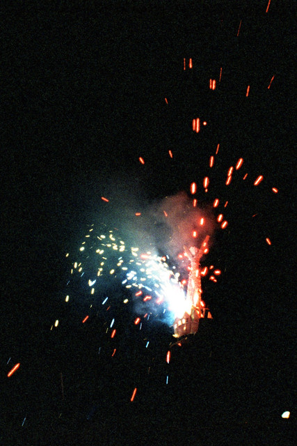 Lots of Tiny Fire Works