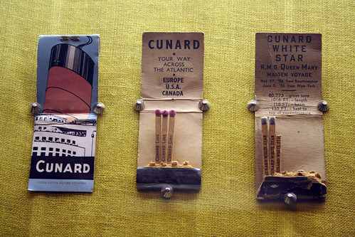 Queen Mary - Matchbook Display | by Miss Shari