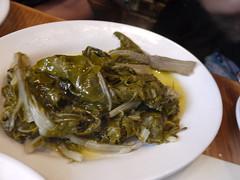 火, 2011-04-19 12:28 - Taverna Kyclades: Horta 付け合わせの野菜
