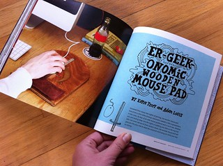 Er-Geek-Onomic Wooden Mouse Pad by Adam Louie + Kayte Terry | by susanstars