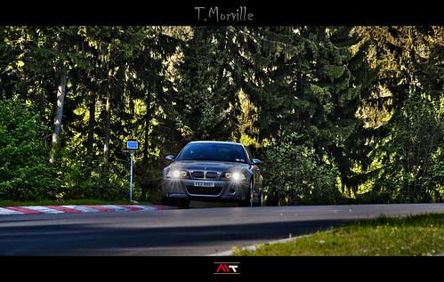 BMW M3 CSL E46 devastatingly lethal poison - Nurburgring N ...