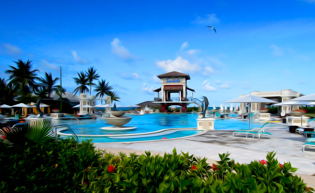 Sandals Emerald bay pool, Great Exuma, Bahamas | Wonderful b