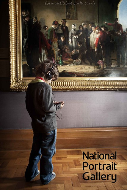 Recent Shoot for the National Portrait Gallery web site
