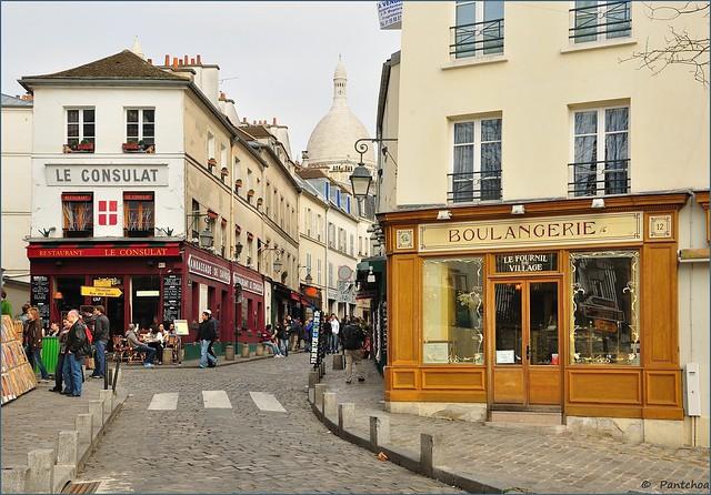 Paris Montmartre : le Consulat et la Boulangerie