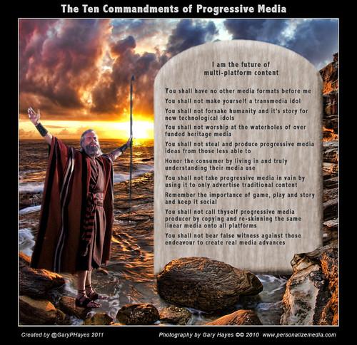 Ten Commandments of Progressive Media | by Gary Hayes
