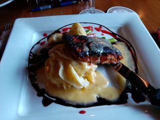 Blackened Salmon at Amberjacks