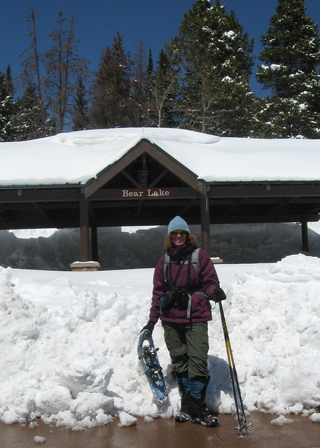 Amy at the Trailhead