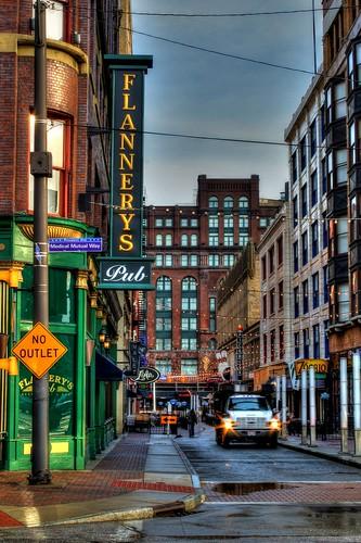 street ohio cleveland 4th east photomatix