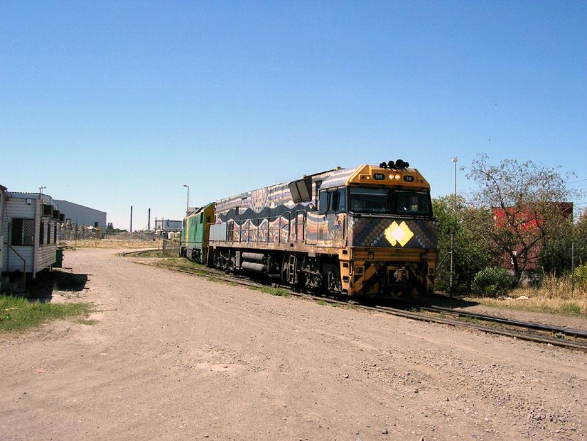 NR 30, Port Flat Rail Yards by baytram366