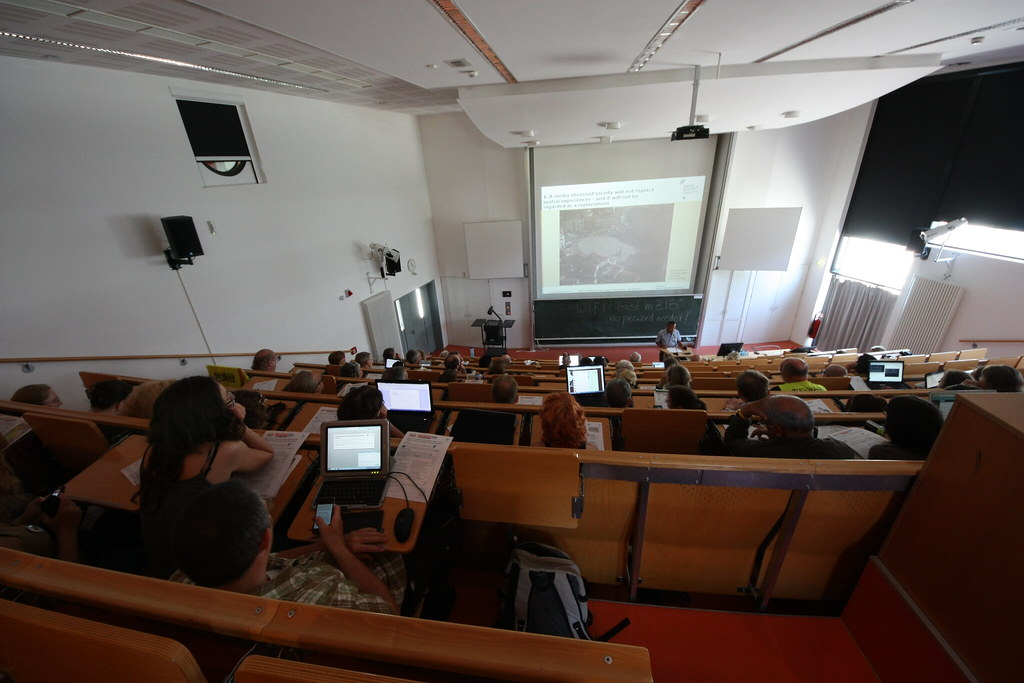 Library conference at Berlin university