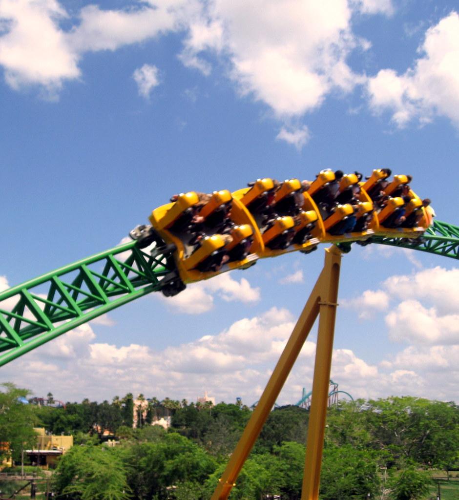 Busch Gardens   Skyride   View Of Cheetah Hunt (2) | Flickr
