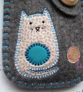 Blue Cat - detail