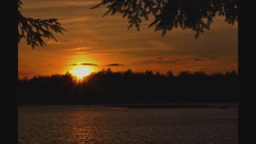 sunset poconos lowerlakepromisedlandsunsetpoconos