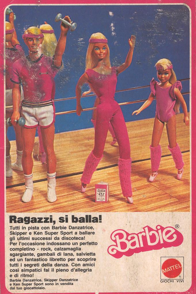 coupon codes authentic quality many fashionable Barbie advertising - Pubblicità Barbie 1983 - Super dance ...