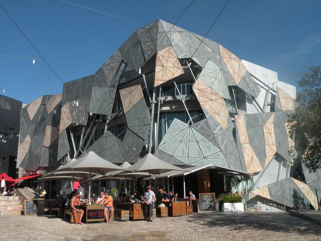 SBS Television And Radio Headquarters - Federation Square,… | Flickr