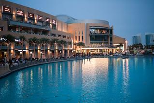 Crowd at Dubai Mall / Fountain   by neekoh.fi