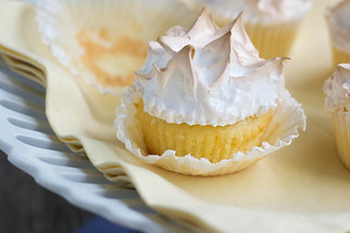 Lemon Meringue Cupcakes | by Jordana Lea