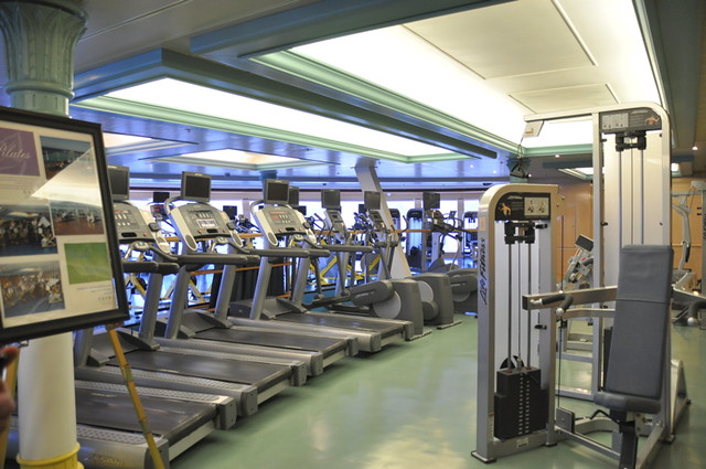 Gym Aboard the Disney Wonder