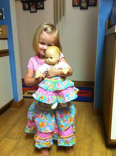 Double Layer Twirl Skirt 02