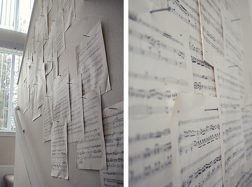 DIY Music Notes Wall | by The Manchiks
