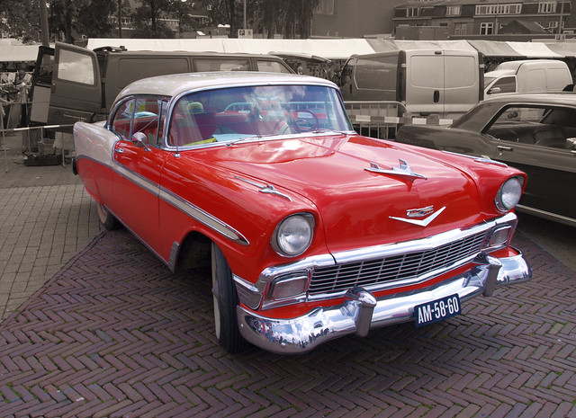 1956 Chevrolet Bel Air Hardtop Sportcoupe