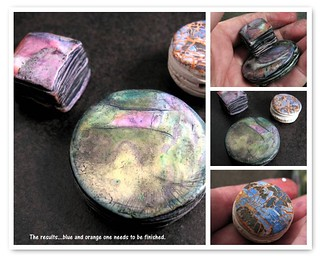 Hollow strata bead tutorial, results | by Claire Maunsell