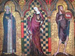 St Dominic, St Catherine, St John the Baptist
