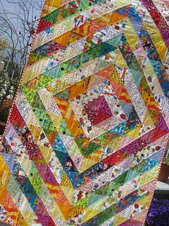 Sunshine & Candy value quilt