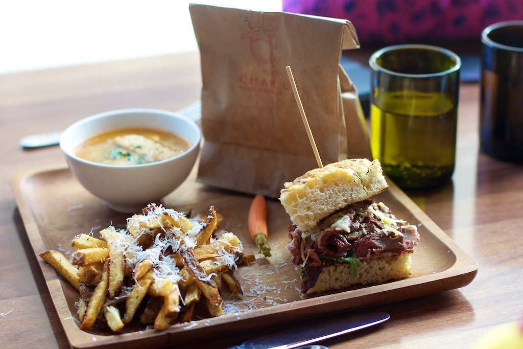 Charcut: 45-minute sandwich lunchbox