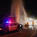 LAPD Assists with LAFD with Traffic and Crowd Control by LAFD