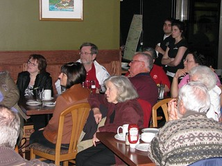 Gayle Rally with Cliff Erickson in Strathroy   by Gayle Stucke Campaign