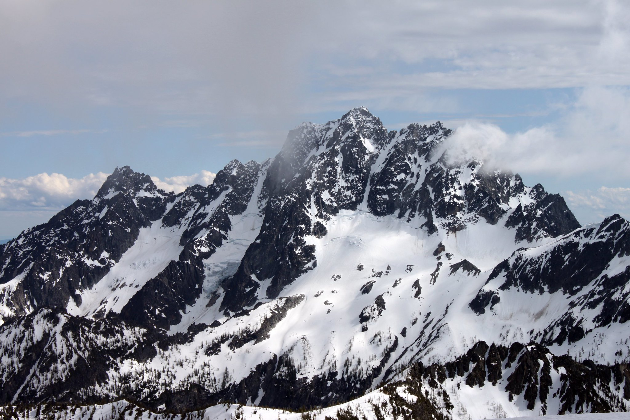 Mount Stuart and Sherpa Peak