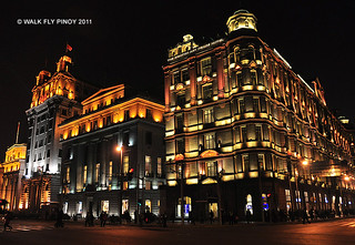 Swatch Art Peace Hotel, Chartered Bank Building & North China Daily News Building on the Bund, Shanghai | by paulxymon