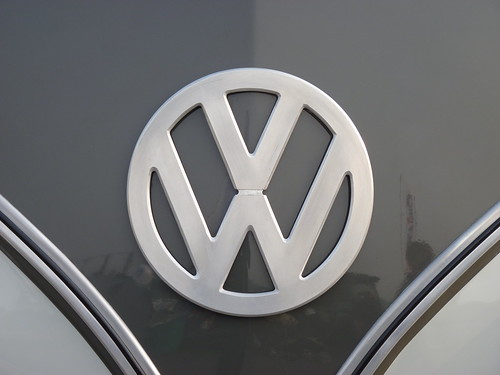 VW Bus - Aluminium Logo | by Gordon Calder - 7 Million Views - Thanks!