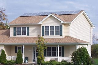 Hamburg, NY residential solar installation | by Solar Liberty