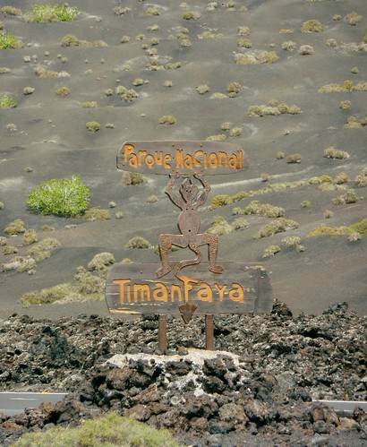 Timanfaya National Park Entrance (02/04/2011)