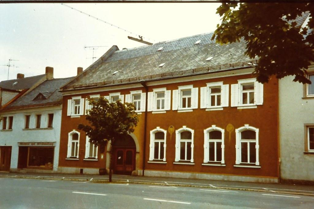 Rehau Krone Hotel Krone Friedrich Ebert Strasse Aufnahme Flickr