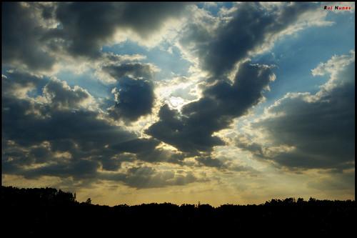 light sunset luz raios pôrdosol rays pds