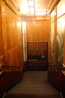 Queen Mary - Staircase From Aft Elevators | by Miss Shari
