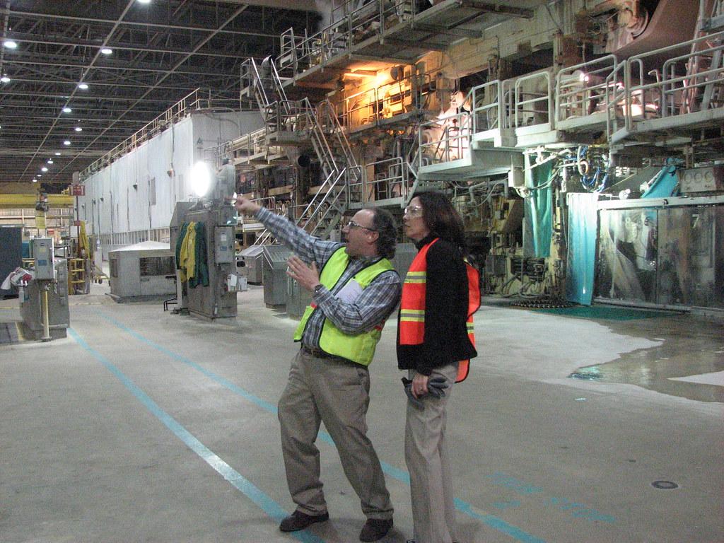 Tour: Weyerhaeuser Facility in Longview, WA, on May 14, 20