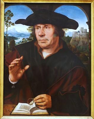 Quentin Massys, Bildnis eines Gelehrten (Portrait of a scholar)