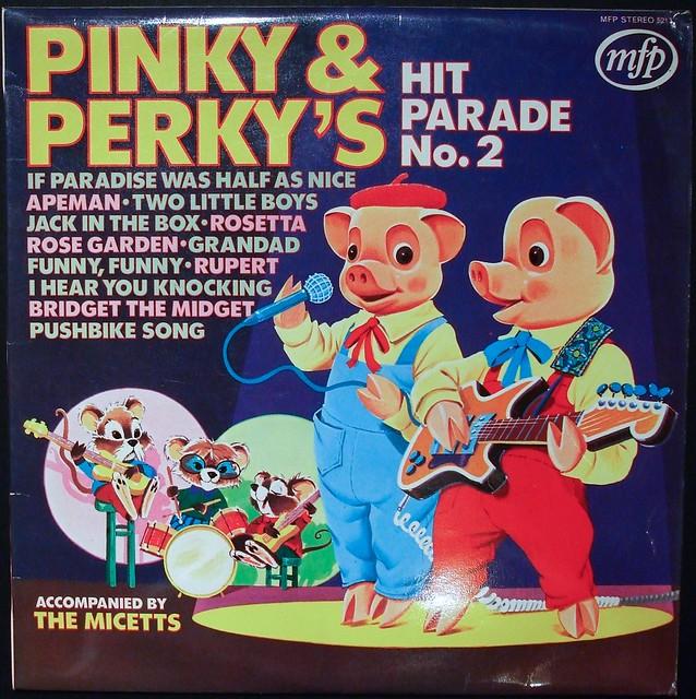Pinky & Perky's Hit Parade No2