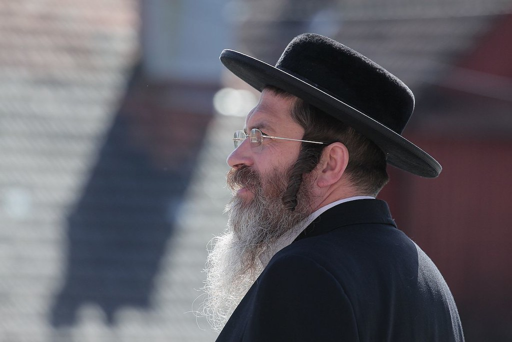 Chasydzi w Leżajsku / Hasidic Jews in Lezajsk